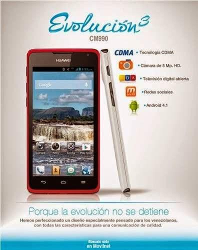 ROM HUAWEI_CM990 Movilnet Venezuela